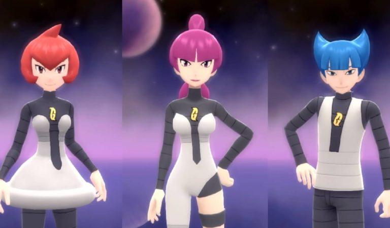 "Pokémon Brilliant/Shining apresenta a equipe ""Galactic"" e mais"