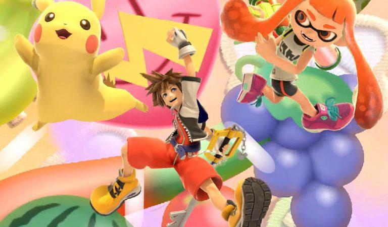 Sora, de Kingdom Hearts, será o personagem final de Smash Ultimate